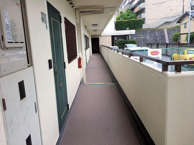 マンション廊下長尺シート
