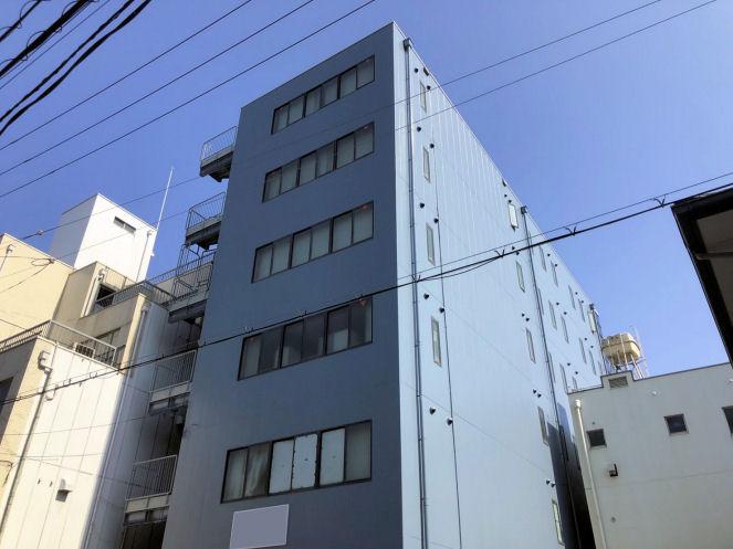 大阪市淀川区社屋の外壁塗装