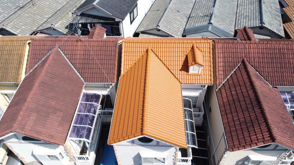東大阪市屋根塗装